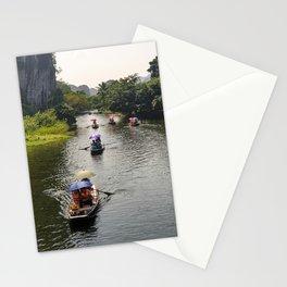 Ngo Dong River, Tam Coc, Ninh Binh, Vietnam Stationery Cards