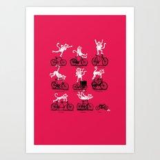 Singerie Art Print