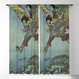 """""""East Wind"""" by Edmund Dulac Blackout Curtain"""