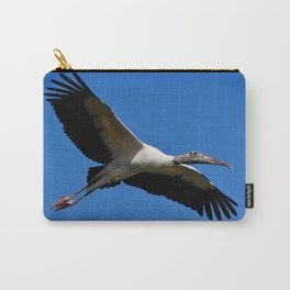 Wood Stork in Flight Carry-All Pouch