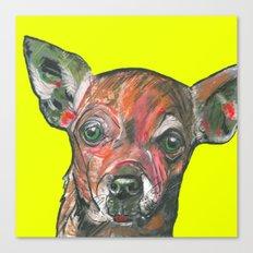 Chihuahua, printed from an original painting by Jiri Bures Canvas Print