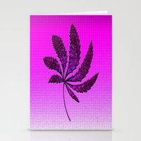 hot pink Stationery Cards featuring HOT Pink by Cherie DeBevoise