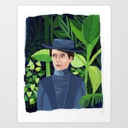 Women in Science, Lise Meitner Art Print