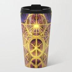 Geometry Peace Reflections Travel Mug