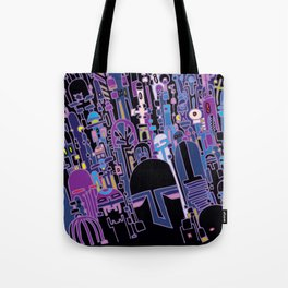 SILICON VALLEY HIGH Tote Bag