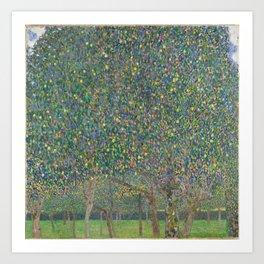 Gustav Klimt - Pear Tree Art Print