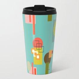 Mid Century Modern Pattern 2 Travel Mug