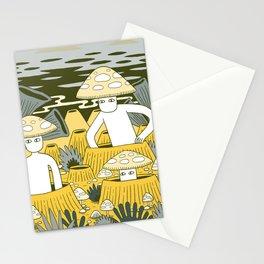 Mushroom Men Stationery Cards