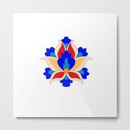 Eslimi Flower Metal Print