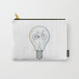 Light Bicycle Bulb Carry-All Pouch