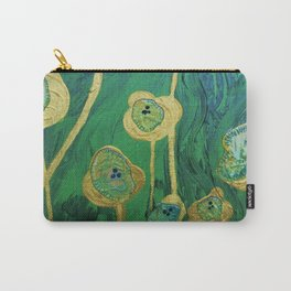 Lotus Blossoms in the Swamp Carry-All Pouch
