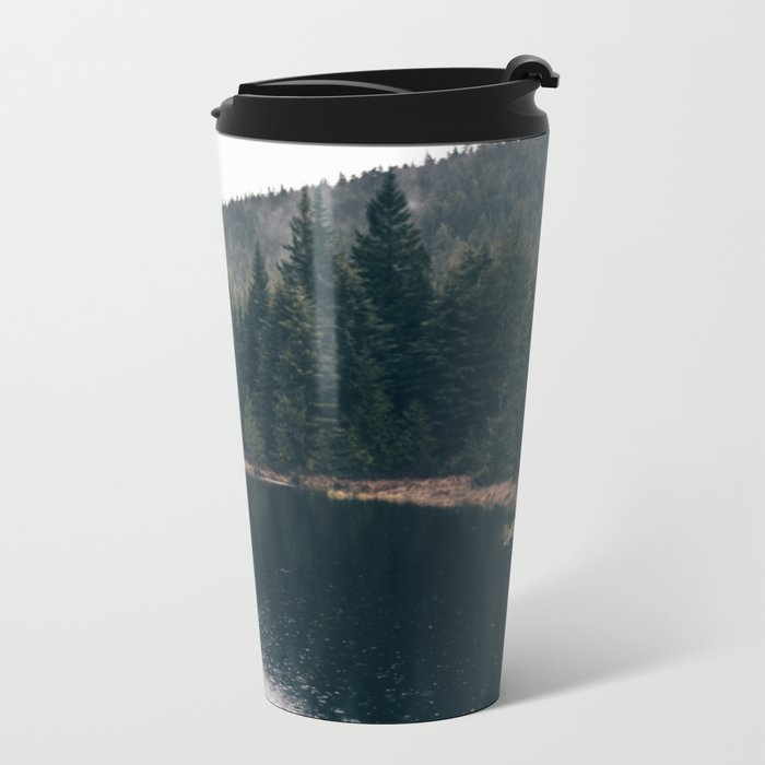 Forest Lake Metal Travel Mug