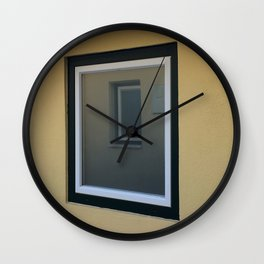 A Window Inside Wall Clock