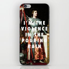 Jean Auguste Dominique Ingres, Joan of Arc at the Coronation of Charles VII (1854) / Halsey, Hurrica iPhone Skin
