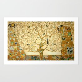 Gustav Klimt - Tree of Life Art Print