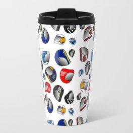 Racing helmets. Travel Mug