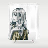 sound Shower Curtains featuring sound by Shusei Mochizuki