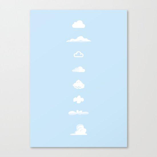 Famous Clouds Canvas Print