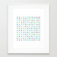 confetti Framed Art Prints featuring Confetti by Leah Flores
