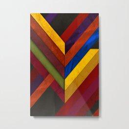 Abstract #279 Metal Print