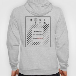 Works Out Loves Donuts Hoody