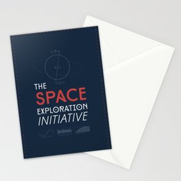 The Space Exploration Initiative Stationery Cards