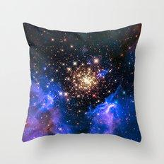 Starburst Cluster Throw Pillow