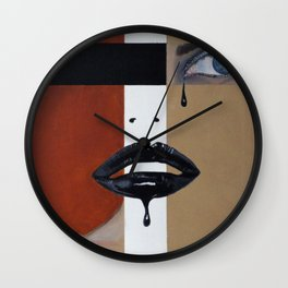 Losing Her Religion Wall Clock