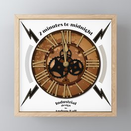 2 Minutes to Midnight Framed Mini Art Print