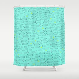 Frisco Fish Shower Curtain