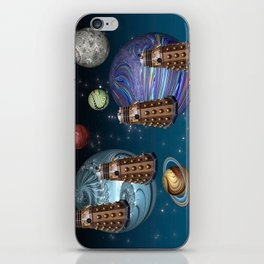 March Of The Daleks iPhone Skin