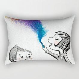 Draw With Me Rectangular Pillow