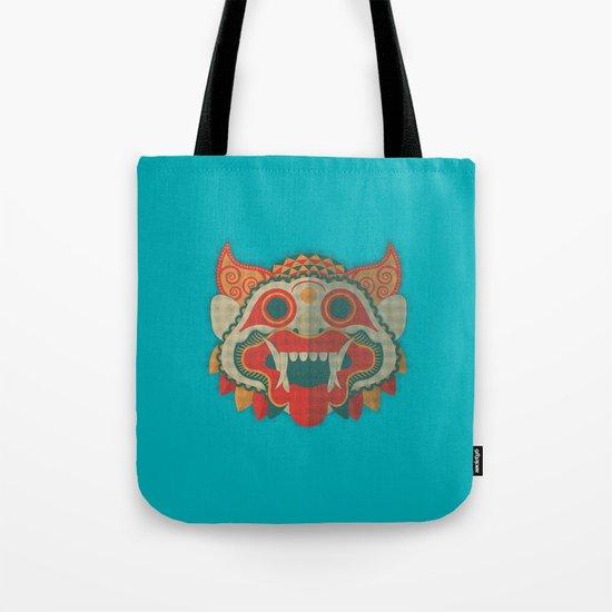 Paper Mask Tote Bag