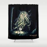 berserk Shower Curtains featuring Dark by TheMagicWarrior