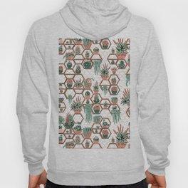 Christmas Succulent Garden. Echeveria, Cacti, plants, aloe vera, pachyveria, haworthia, holiday gift Hoody