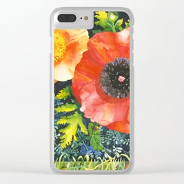 Turf Wars Clear iPhone Case