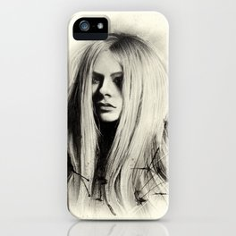 Avril iPhone Case