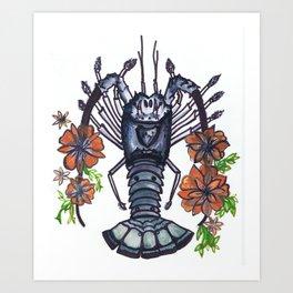 Bug Blossom Art Print