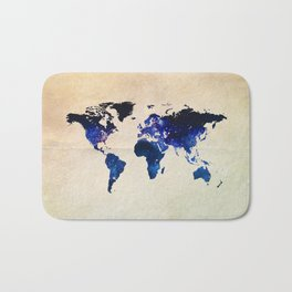 Big World Out There Bath Mat