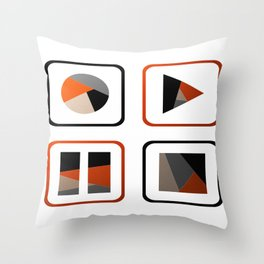 In Control Throw Pillow
