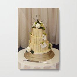 cake decor Metal Print