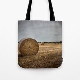 Bales of hay Tote Bag