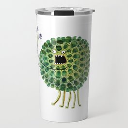 Poofy Plactus Travel Mug