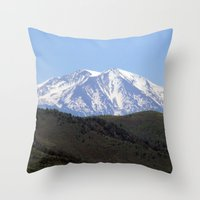 colorado Throw Pillows featuring Colorado by BACK to THE ROOTS