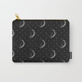 Half Moon Face Carry-All Pouch
