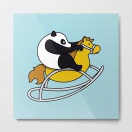 Panda ♥ Metal Print