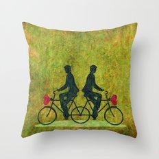 Stucked Love Throw Pillow