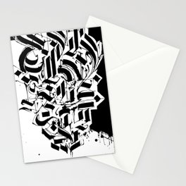 CALLIGRAPHY N°3 ZV Stationery Cards
