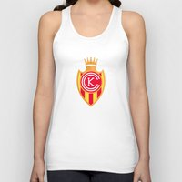 spanish Tank Tops featuring KCFC (Spanish) by Football As Football