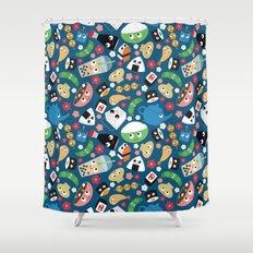 Bento Box Shower Curtain